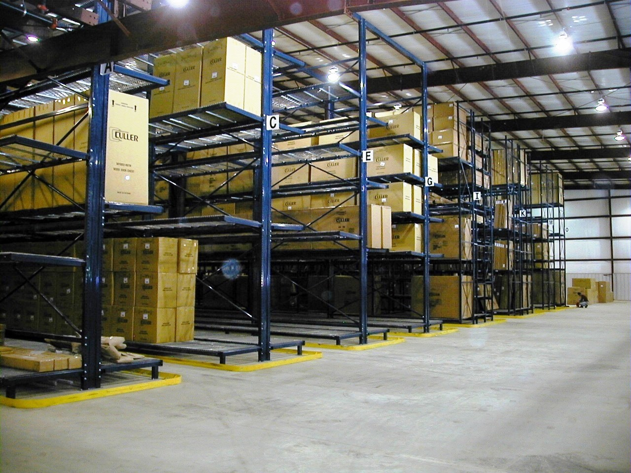 Furniture Storage Racks Warehouse Design