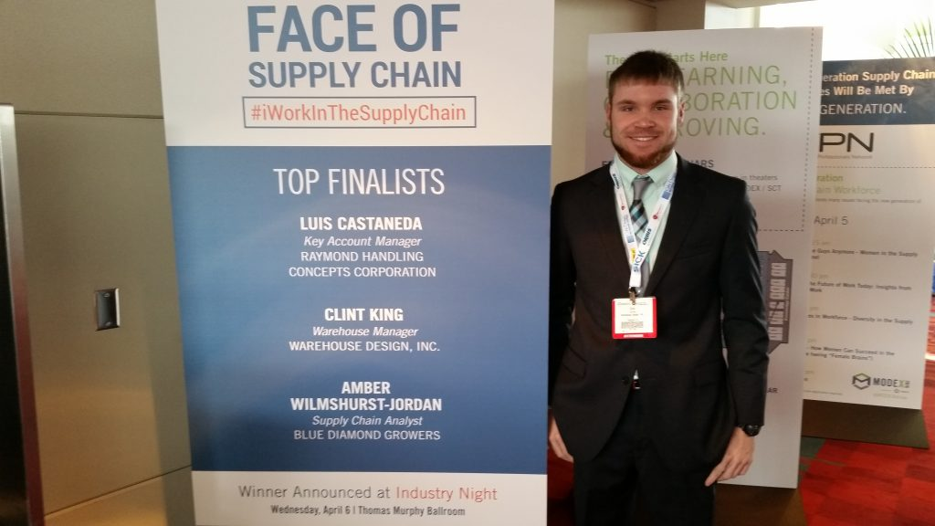 Clint King - Warehouse Manager & System Sales - Face of Supply Chain National Finalist