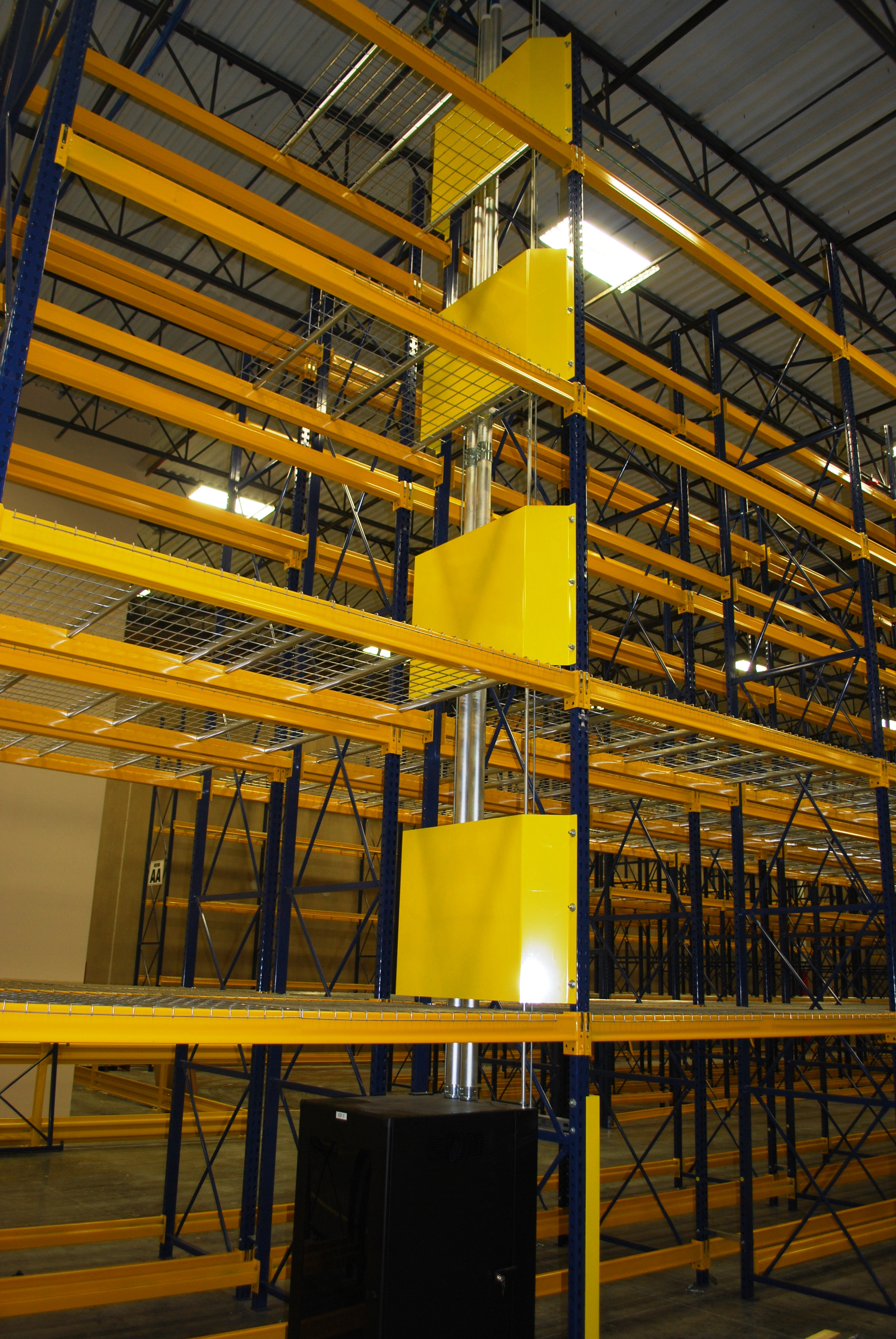 Rack Guarding Warehouse Design