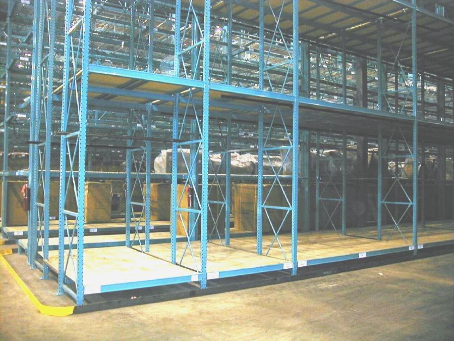 Extended Depth Rack | Warehouse Design