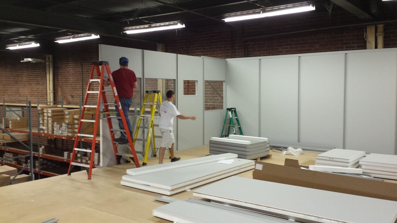 warehouse mezzanine modular office. Modular Office On Mezzanine Warehouse