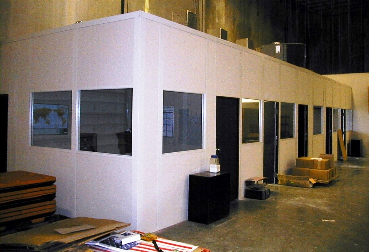 modular offices warehouse design