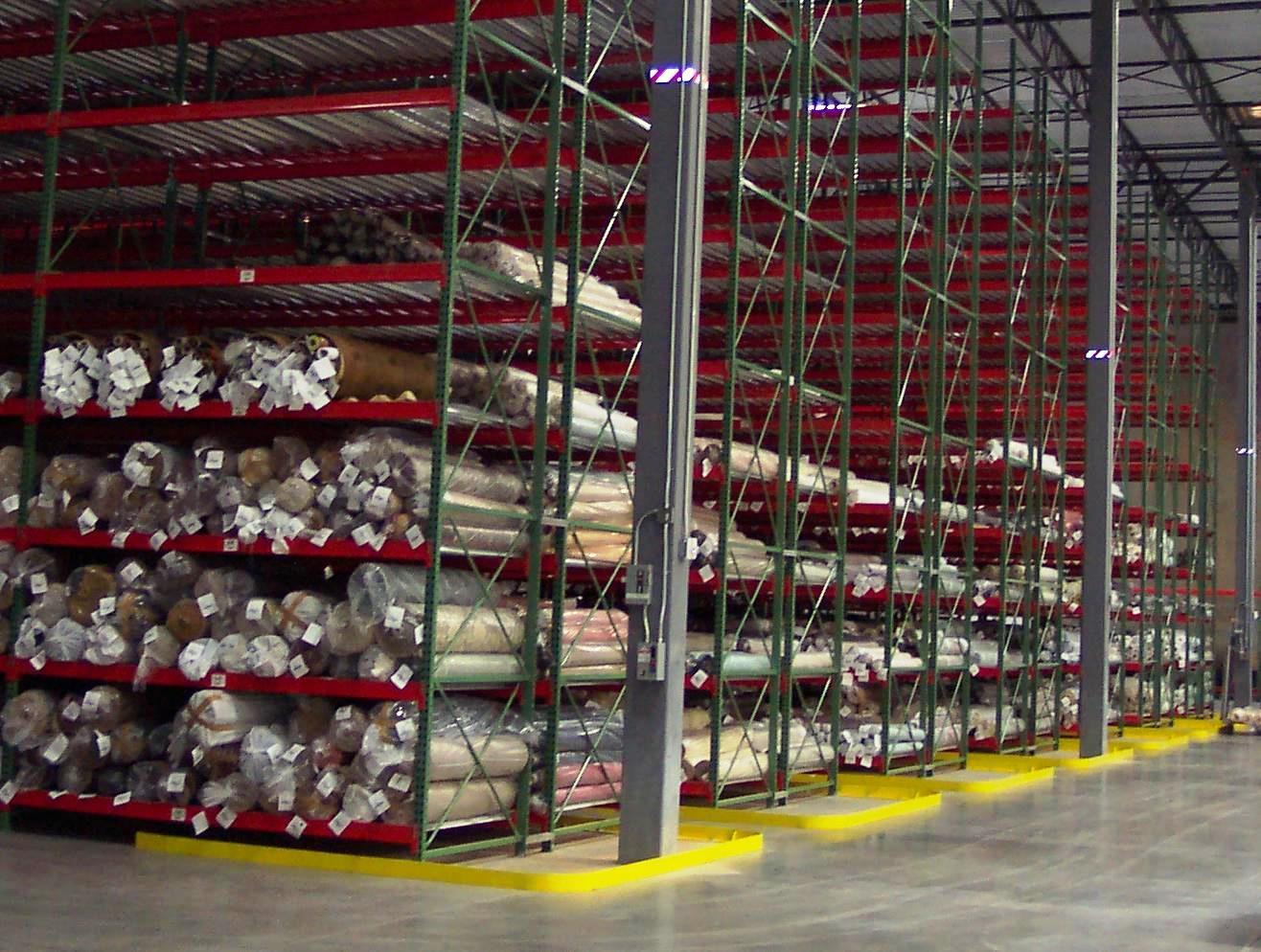 Roll Storage Warehouse Design
