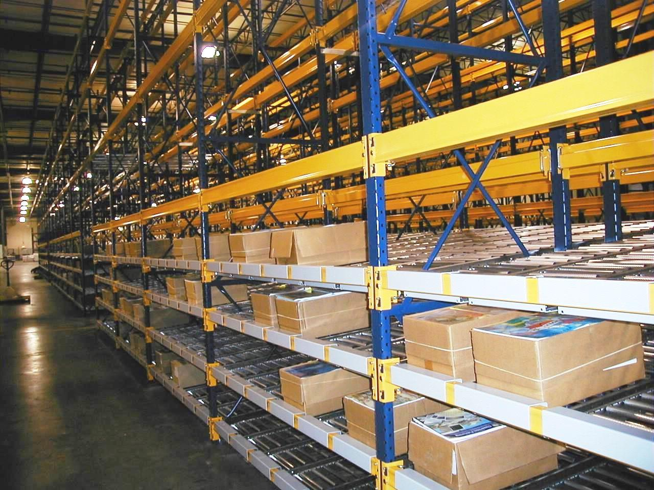 Carton Flow Racks Warehouse Design